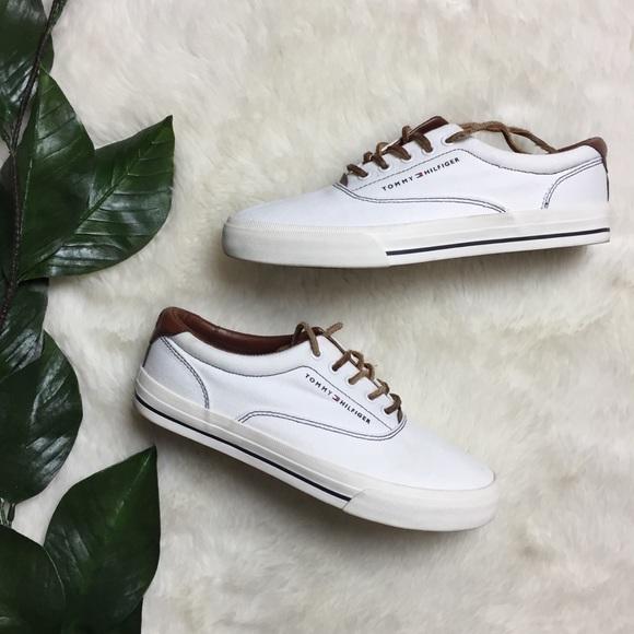 "219f9d2d1 Tommy Hilfiger Canvas Leather ""Paulie"" Sneakers"